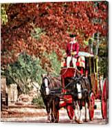 Carriage Ride Canvas Print
