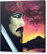 Carribean Night Canvas Print