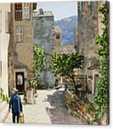 Carriero Du Pourtegue Canvas Print