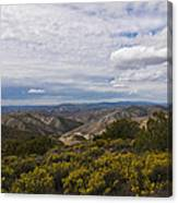 Carrizo Canyon Canvas Print