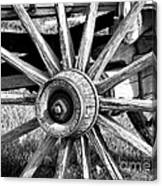 Cart Wheel Canvas Print