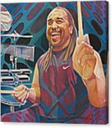 Carter Beauford-op Series Canvas Print
