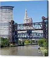 Carter Road Lift Bridge Canvas Print