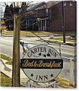 Carter Run Inn 1 Canvas Print