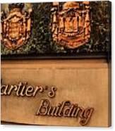 Cartier Jewellery Canvas Print