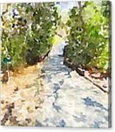 Cartpath Lucky 13 Canvas Print