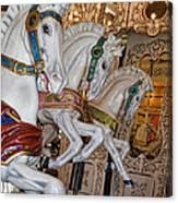 Caruosel Horses Canvas Print