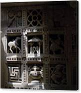 Carvings Of Jainism Canvas Print