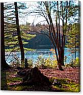 Cary Lake In The Fall Canvas Print