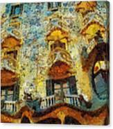 Casa Battlo Canvas Print