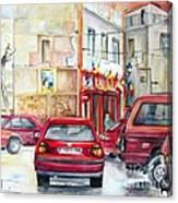 Casa Pinet In Tarbena Canvas Print