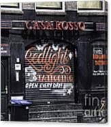 Casa Rosso Amsterdam Canvas Print