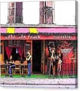 Casa San Pablo Restaurant Canvas Print