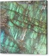 Cascade Of Green Canvas Print