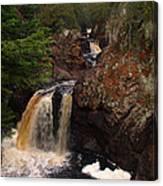 Cascade River Canvas Print