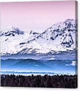 Cascades Central Oregon Canvas Print