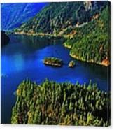 Cascades Lake Canvas Print