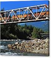 Cascades Rail Bridge Canvas Print