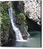 Cascading Waterfalls Canvas Print
