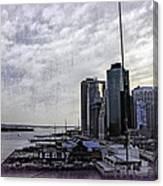 Case Of The Missing P Aka As Pier 17 Canvas Print