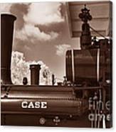 Case Steam Canvas Print