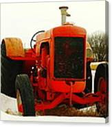 Case Tractor Canvas Print