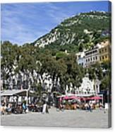 Casemates Square In Gibraltar Canvas Print