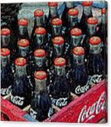 Classic Case Of Coca Cola Canvas Print