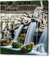 Caserta Palace Fountain 1 Canvas Print