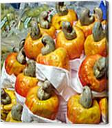 Cashew Fruit - Mercade Municipal Canvas Print