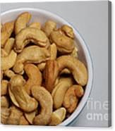 Cashews - Nuts - Snack Food Canvas Print