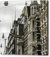 Casino Arcade Damrak Amsterdam Canvas Print