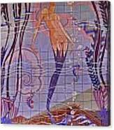Casino Mermaid Canvas Print