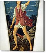 Castagno's David With The Head Of Goliath Canvas Print