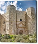 Castel Del Monte Canvas Print