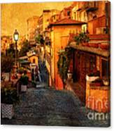 Castel Gandolfo Italy Canvas Print