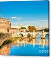 Castel Sant'angelo - Rome Canvas Print