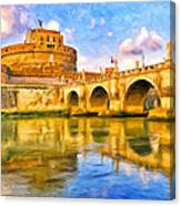 Castel Sant'angelo Canvas Print