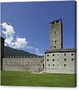 Castelgrande - Bellinzona II Canvas Print