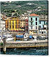 Castelleto Harbor.italy Canvas Print