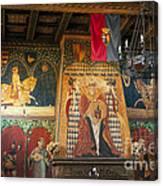Castello Di Amorosa Winery Canvas Print