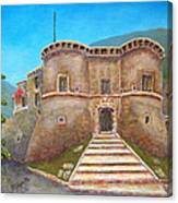 Castello Ducale Di Faicchio Canvas Print