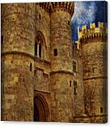 Castle By Moonlight Canvas Print
