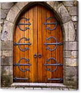 Castle Door Canvas Print
