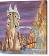 Castle Dragonfly Canvas Print