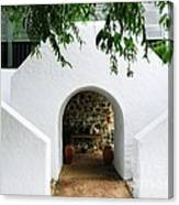 Castle Entrance Canvas Print