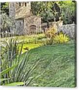 Castle Gate House Canvas Print