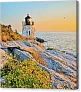Castle Hill Lighthouse 1 Newport Canvas Print