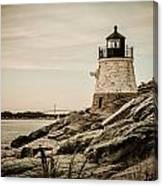 Castle Hill Lighthouse Canvas Print