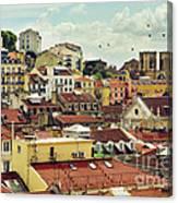 Castle Hill Neighborhood Canvas Print